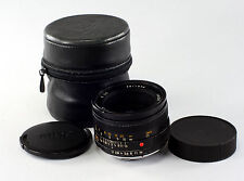 Leica Lens - Summicron R 2/50mm, #3511596, with 6 elements & built-in sun shade