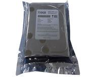"""New 750GB 7200RPM 16MB Cache SATA 3.0GB/s 3.5"""" Hard Drive (DVR/CCTV/PC/Mac)"""