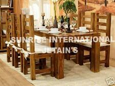 Contemporary Wooden Dining set ( 1 Table , 6 chairs )