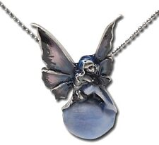 Sweet Violet Bubble Rider Fairy Necklace ~25% off~