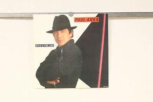 "PAUL ANKA Walk A Fine Line CBS 1983 promo Poster only flat 12""X12"" Good Conditio"