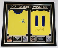*** New Charlie George of Arsenal Signed Shirt 1971 Autograph Display ***