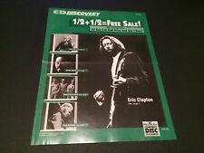 ERIC CLAPTON LITA FORD BRUBECK BMG DIRECT CD CLUB USA MAIL ORDER CATALOG 1992
