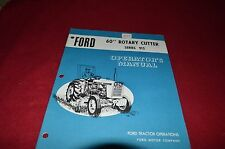 Ford Tractor 915 Rotary Cutter Operator's Manual CHPA