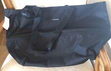 Vera Bradley Lighten Up Expandable Travel Bag Tote Black NWT