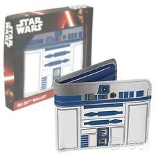 Neu Star Wars R2-d2 Verpackt Bi-Faltbare Portemonnaie Droide Offiziell