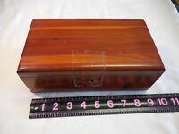 Vtg  Lane Valley Furniture Wood Chest Box Trinket Cedar Mini Chest 9 X 5 X 3.25
