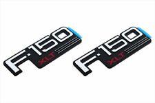 92-96 NEW Ford F-150 XLT Fender Emblem Nameplate Badge Side F150 Logo SET of 2