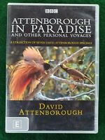 ATTENBOROUGH IN PARADISE & other personal voyages - David Attenborough - 2 DVD