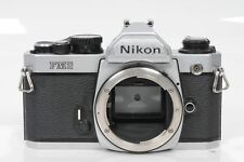 Nikon FM2 SLR Film Camera Body FM-2 Chrome                                  #801