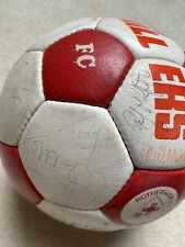 More details for match day signed football newcastle united squad 1982 - kevin keegan
