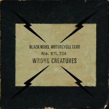 DOUBLE LP & MP3 Black Rebel Motorcycle Club Wrong Creatures GATEFOLD Abstrac
