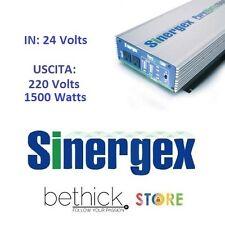 INVERTER SINERGEX PUREWATTS 1500 WATT 24V DC A 220V ONDA SINUSOIDALE BARCA