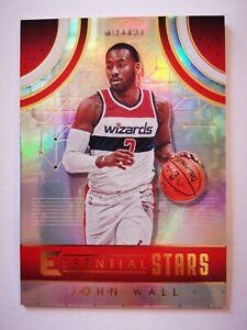 Panini Essentials 2017-18 card carte NBA Washington Wizards ES-26 John Wall