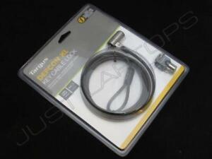 Neu Einzelhandel Targus Laptop Ultrabook Kensington Sicherheitskabel Lock Tasten