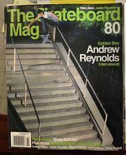 The Skateboard Mag 80 November 2010 Lance Mountain Andrew Reynolds Ryan Sheckler