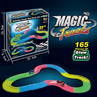 165 Piece Glow in the Dark Magic Tracks