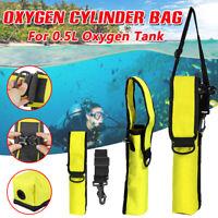 Oxygen Cylinder Tank Bag Holder Mini Scuba Diving Underwater Equipment Accessory