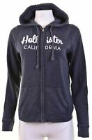 HOLLISTER Womens Hoodie Sweater Size 16 Large Blue Cotton  GK03