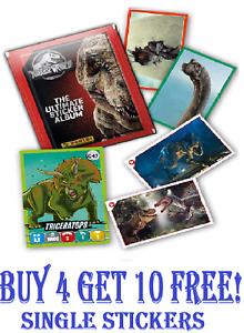 PANINI Jurassic World - The Ultimate Sticker Collection (2020)   #1-216 C1-C50