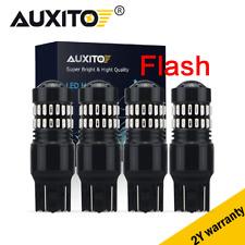 7443/7440 Red Color LED Brake Flash Strobe Blinking/Tail/Turn Signal Light BulBs