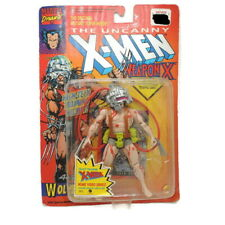 Marvel Uncanny X-Men Weapon X WOLVERINE Action Figure Rogue Card ToyBiz 1992