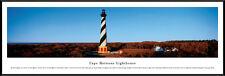 Cape Hatteras Lighthouse Outer Banks North Carolina Framed Poster Picture