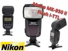 FLASH NIKON  SPEEDLITE MK950 II TTL MEIKE NIKON SB 600 SB700 SB910 Yongnuo 565ex