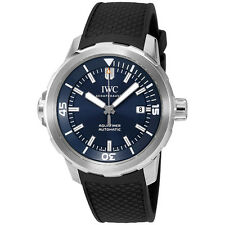 IWC Aquatimer Automatic Expedition Jacques-Yves Cousteau Blue Dial Mens Watch