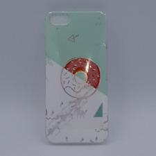 iPhone 5, 5s, SE -hoesje - TPU - donut on marble - groen