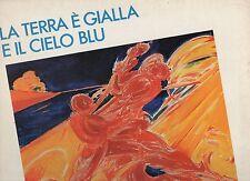 LA TERRA E GIALLA IL CIELO BLU disco LP FRANCO BATTIATO VASCO ROSSI RENATO ZERO