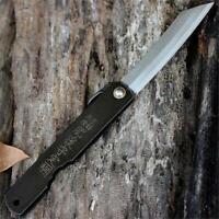 Coltello Higonokami HIGO07BL Triple Layered SK Knife Messer Couteau Navaja