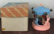 Carousel Stahlwood Toy  With Original Box