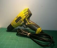"""D43 Ryobi Corded Electric 5.5-Amp 3/8"""" Variable Speed Drill"""