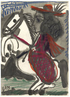 "Pablo Picasso ""Toros y Toreros""  54565787909"