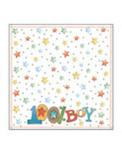 "12"" Scrapbook Paper 2sheet  100% Boy Baby nursery Birthday party"