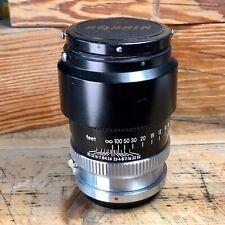 Nikkor-P 10.5cm f/2.5 Nikon S Mount Rangefinder Lens