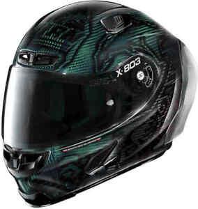 2021 XLITE X803RS Casey Stoner Superheld Carbon Gratis Dark Visier Motorrad Helm