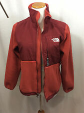 The North Face Women's Red Size Small ~ Zippered Jacket / Coat Denali / Polartec