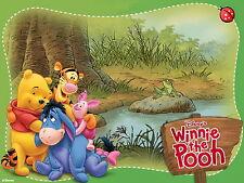 Winnie The Pooh Herren Kurzarm T-Shirt Tee wa1 aao30211