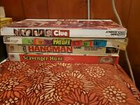Lot Of 4 Vintage Board games Conspiracy, Population, Anti-monopoly, Hollywood