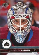 17/18 UPPER DECK BASE #300 JONATHAN BERNIER AVALANCHE