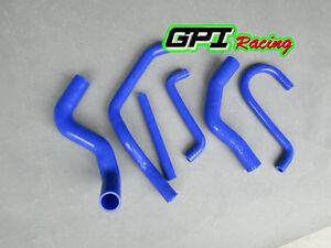 Silicone radiator hose for Ford Falcon EF EL 4.0L 6 cyl DF DL NF NL XR6 94-98,BL