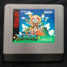Nintendo Virtual Boy Mario's Tennis Japan Rare Cover Art