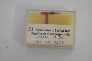 Replacement Diamond Turntable Stylus for ASTATIC N 56 NOS