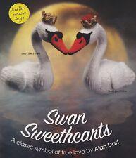 Swan Sweethearts, BYOB Alan Dart Knitting Pattern Build Ur Own Binder of Favs!