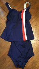 Womens Vintage Bathing Suit- sz 6- Elizabeth Stewart California