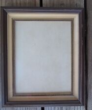 Vintage Double Frame Within a Frame Wood Glass 10-1/4 x 12-1/4