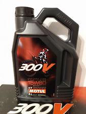 4 Liter Kanister Motul 300V 300 V Off Road Racing 15W60 Factory Motorenöl