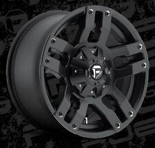 Fuel Pump D515 18x9 5x4.5/5x5 ET1 Matte Black Wheels Rims (Set of 4)